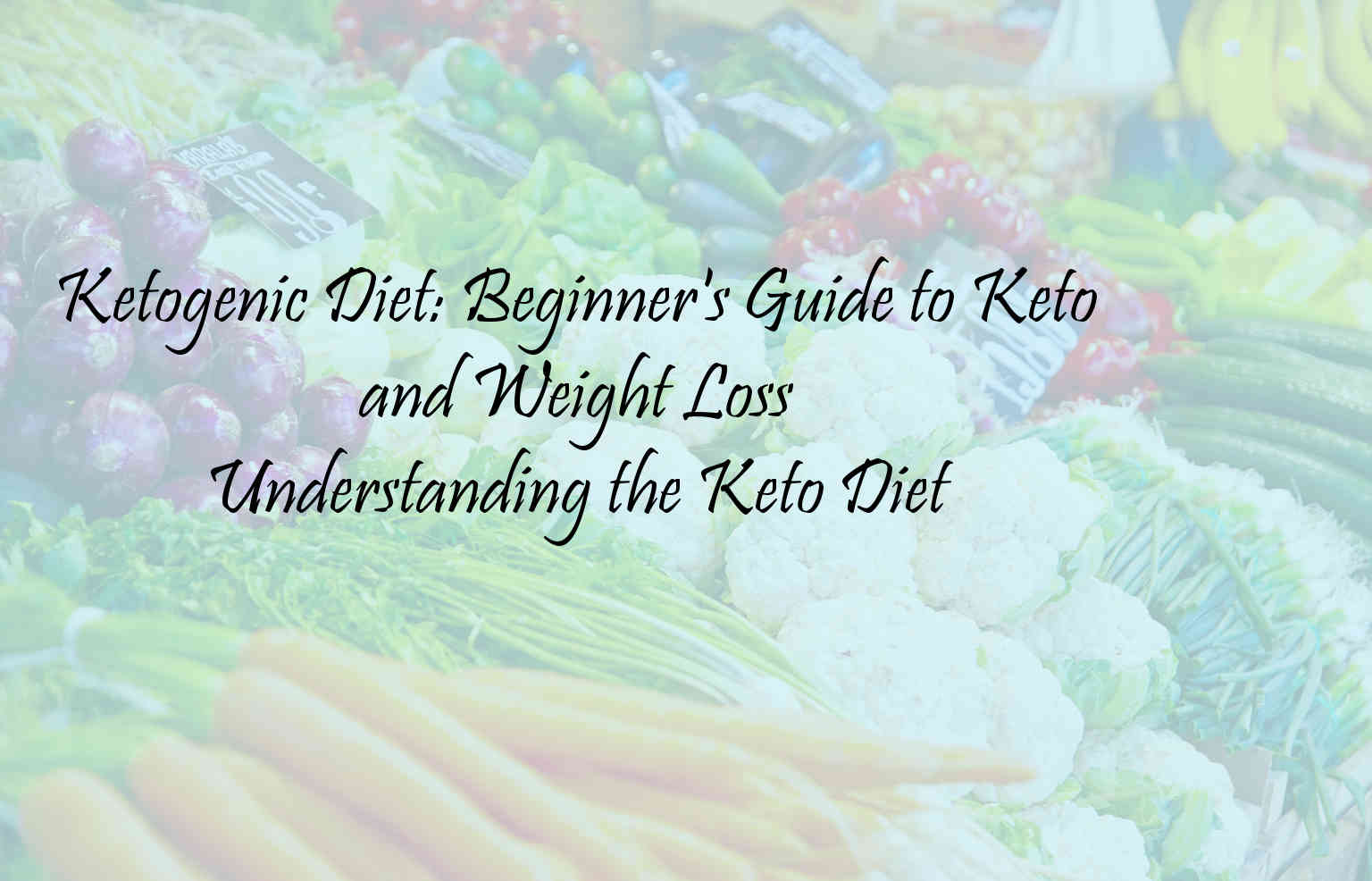 ketogenic diet