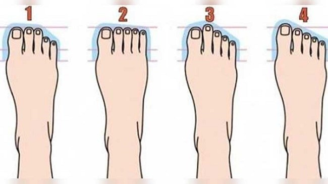 What can your toes reveal about your personality