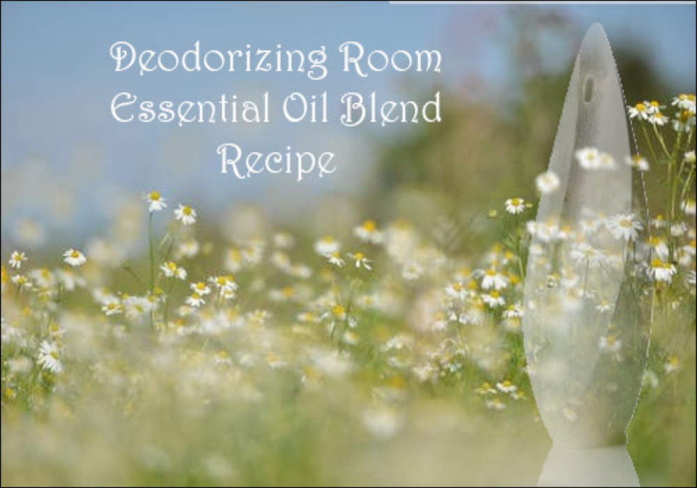 Deodorizing Room Essential Oil Recipe
