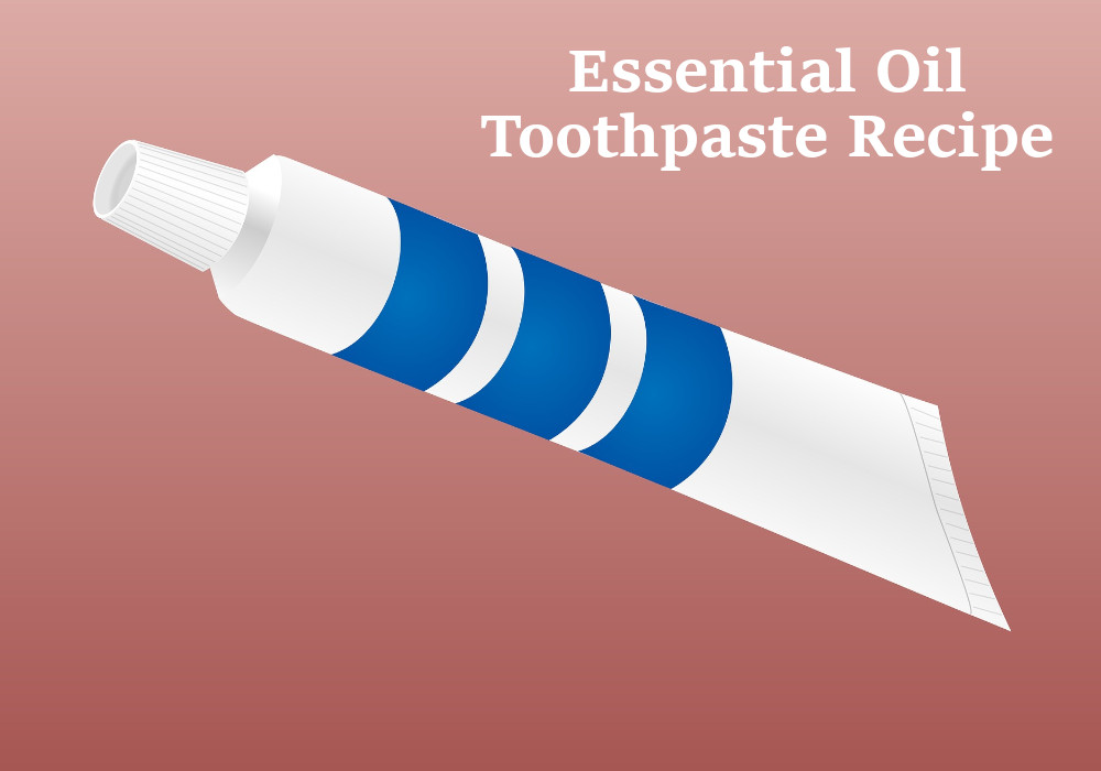 essential oil toothpaste