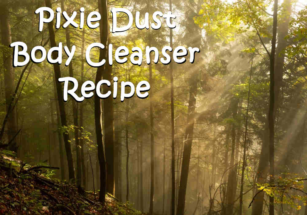 Pixie Dust Body Cleanser Recipe
